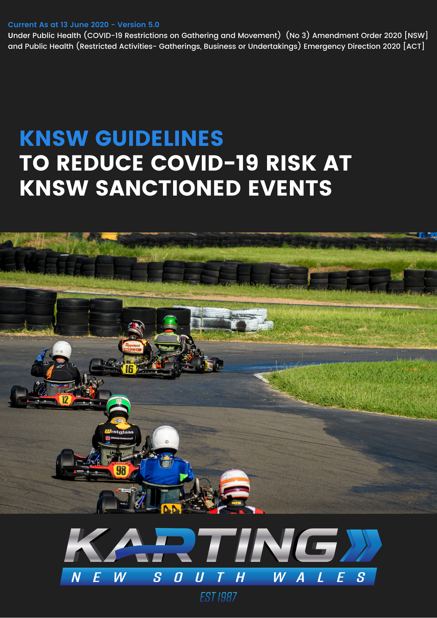 KNSW Guidelines - 13 June 2020 Cover FINAL