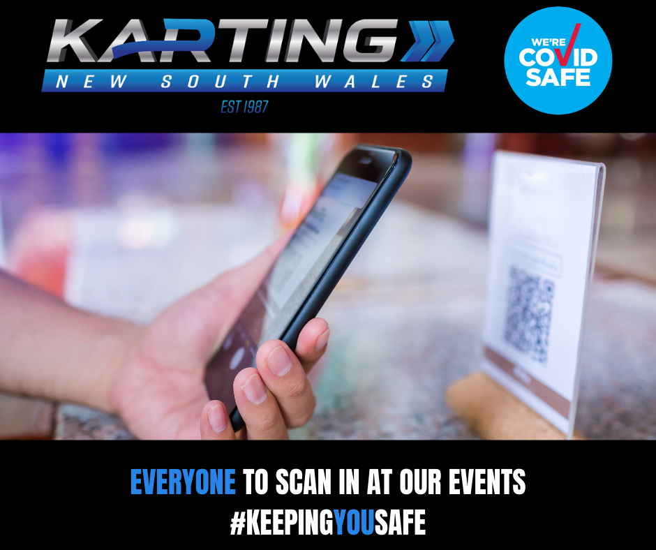 EVERYONE TO SCAN IN AT OUR EVENTS