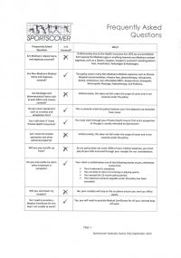 Insurance FAQ's