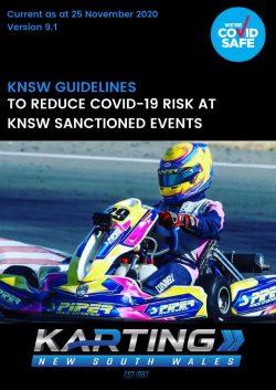 KNSW COVID-19 Guidelines v9.1. Updated 25 November 2020.