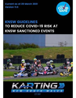 KNSW COVID-19 Guidelines v11.0. Updated 29 March 2021.