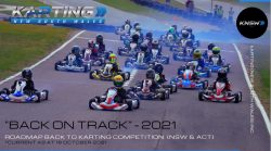 Roadmap Back to Karting Competition (NSW & ACT) 18 October 2021
